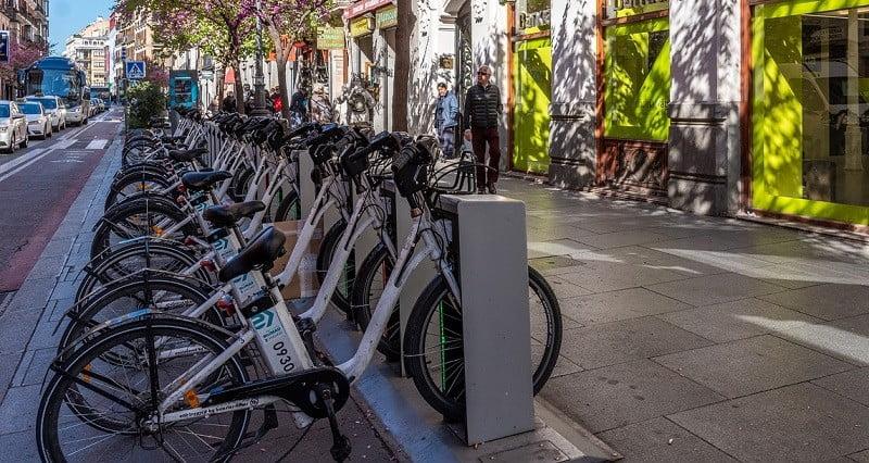 renting a bike