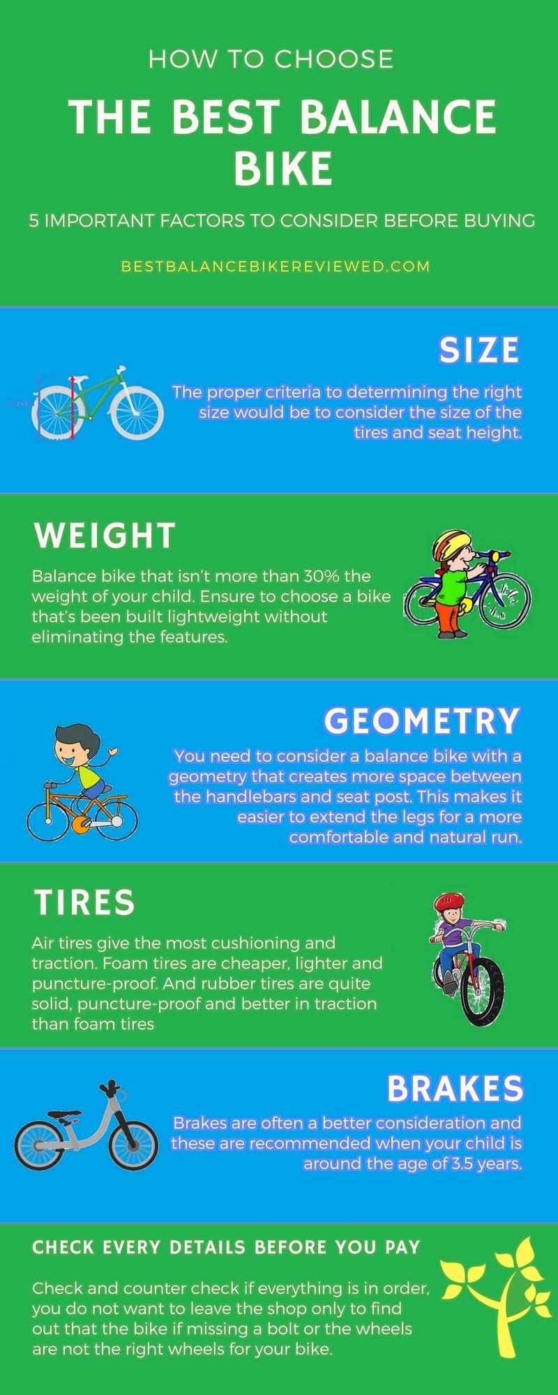 how to choose a balance bike