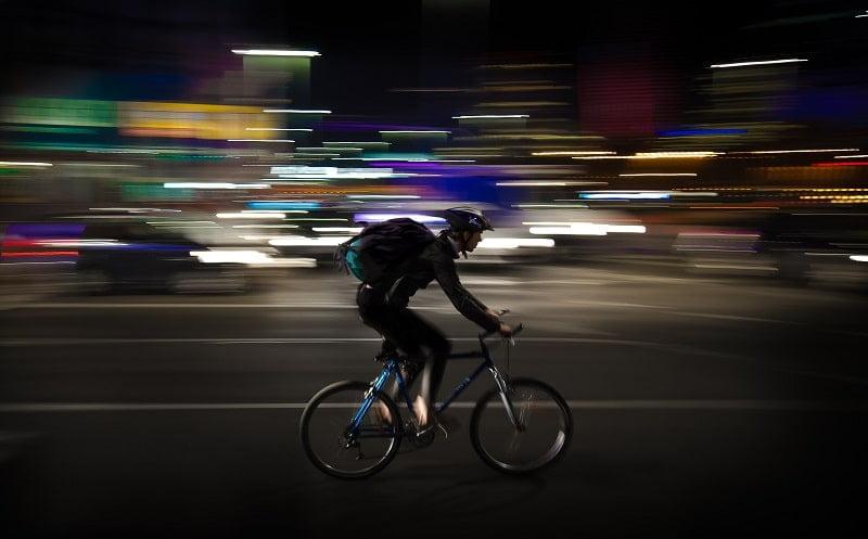safe cycling at night