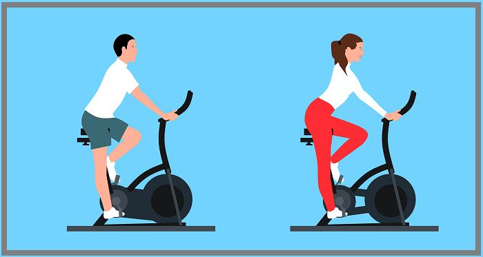 stationary exercise indoor bike